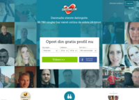 Dating.dk Screenshot